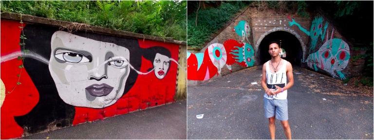 Zelda Bomba at via dei Lentuli & Gio Pistone, tunnel via dei Lentuli, Quadraro, Roma