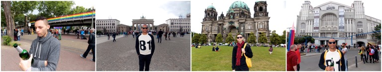 Parks and recreation, the Brandenburger Tor and Museum Island in Berlin