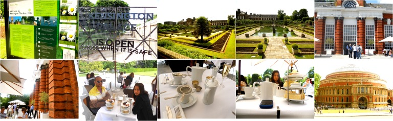 High Tea at the Orangery (Kensington Garden, The Royal Gardens)