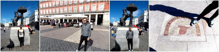 KM 0 in Madrid