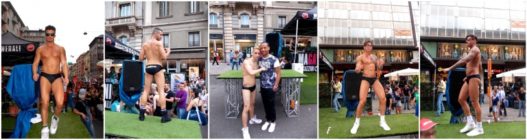 Magayzinni Generali entertaining us at Milano Pride